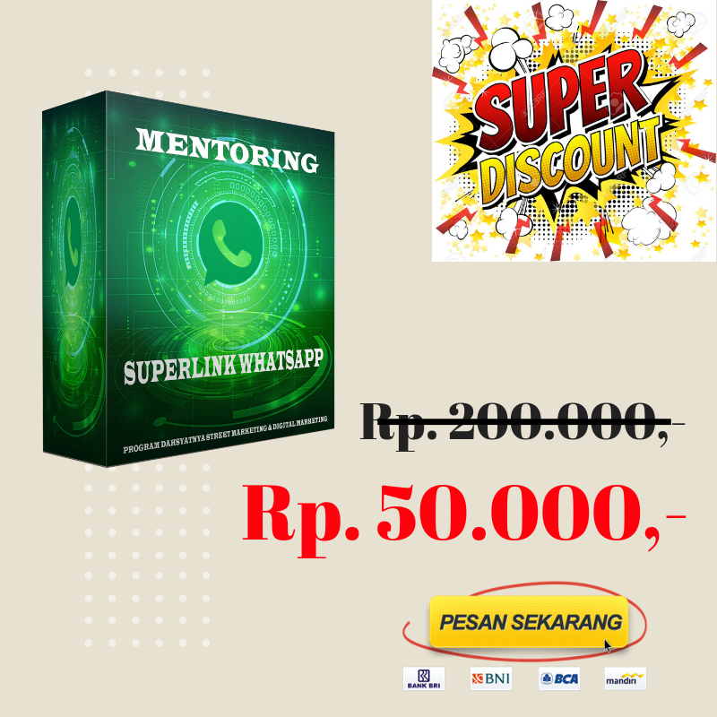 MENTORING SUPERLINK WHATSAPP